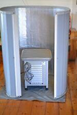 Vintage home Sauna 1960s mid century complete infra-red heat