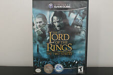 Lord of the Rings: The Two Towers (Nintendo GameCube, 2004) *Tested/Wii Compatib