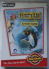 SURF'S UP THE VIDEOGAME ACTIVITY CENTRE PC CD-ROM CHILDRENS GAME new & sealed UK