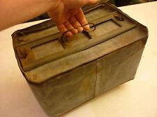 Vintage Antique Egg Crate Carrier - Metal - Holds 4 Dozen Eggs - Farm Chicken