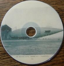 Vintage GRAF ZEPPELIN AIRSHIPS BALLOONS dirigible Research History 19 Books DVD