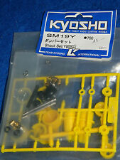 vintage KYOSHO SM19Y SM-19Y Shock Set PIECES D'AMORTISSEURS Stossdaempfer PARTS