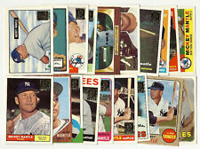 1996 Topps Mickey Mantle Reprints Set - 19 Cards