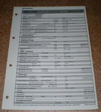 Inspektionsblatt Honda Civic 1,6 VTI - ab 1996!