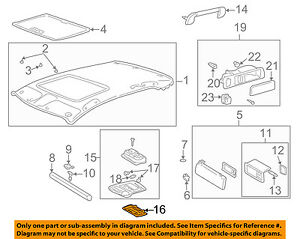 81265-50170 Toyota Lens, map lamp, no.1 8126550170