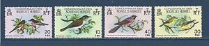 NEW HEBRIDES (FRENCH) - 296 - 299 - MLH - 1980 - BIRDS