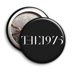 The 1975 - Black Logo - Button Badge - 25mm 1 inch - Matthew Matty Healy