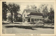 Meredith NH Avery's Restaurant & Bakery c1920s Postcard