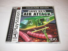 Army Men Air Attack: Collector's Edition (PlayStation PS1) Game Complete Exc~