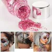 Glitter Sequined Gel Body Lotion Cosmetic Liquid Face Party Stage Makeup
