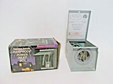 EmerGen Switch Rt30 30A Rainproof Power Inlet Box Generator - transfer switch