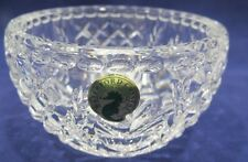 "2001 TIMES SQUARE HOPE FOR ABUNDANCE WATERFORD CRYSTAL CANDLE VOTIVE MIB 4"" BOWL"