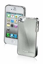 COQUE ARRIERE ETUI HOUSSE PROTECTRICE MOMO DESIGN CARBON BLANCHE IPHONE 4 ET 4S