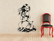 Mileena Wall Decal Mortal Kombat Game Vinyl Sticker Nether Realms Mural 332z