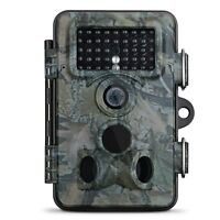 Camera of Hunting 12MP 1080P HD 120°Wide Angle LED Infrared Nightvision