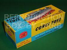 Corgi #104 Dolphin Cruiser on Wincheon Trailer - Reproduction Box by DRRB