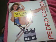 PEDRO CONGA Y SU ORQUESTA EN ACCION ORIG SONO SALSA LP