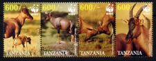 2006 Tanzania - WWF Topi Antelope (4) MUH