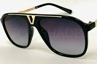 Fashion Aviator Designer Miami Style Black Tortoise Shades Men Women Sunglasses