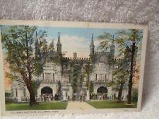 Vintage Postcard Columbia Tennessee Tenn Tn Maury County Columbia Institute