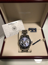 Longines HydroConquest Automatic Column Wheel Chronograph Blue Dial