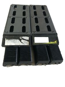 Projector slide cassette trays X 2 + box. Each box takes 100 slides FOR HANIMEX