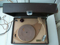 His Master's Voice HMV 2126 Three Speed Record Player No Longer Operational Good