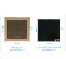 Anycubic Ultrabase 220x220mm Glass Build Plate 3D Printer Platform for MK2/MK3