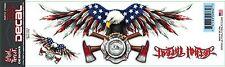 Lethal Threat Sticker Aufkleber USA FD Eagle Helm Bike Quad Auto Truck Laptop