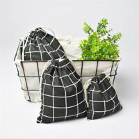 Women Men Drawstring Bag Travel Makeup Case Cosmetic Shoes Storage Toiletry Bag
