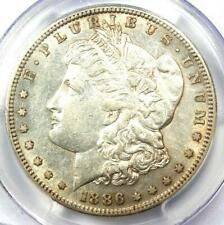 1886-S Morgan Silver Dollar $1 - Pcgs Au50 - Rare Date in Au50 - Nice Luster!