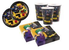 KIT N 2 LEGO - BATMAN COORDINATO FESTA COMPLEANNO BAMBINI PIPISTRELLO