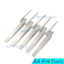 5 Dental Articulating Paper Holder Serrated Pliers Tweezers Straight Stainless