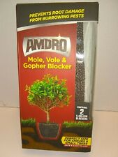 Amdro Mole,Vole and Gopher Blockers.3boxes Contains 2--5 Gallon Blockers each