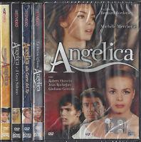 5 Dvd Lotto Stock ANGELICA serie collezione completa con 5 film nuovo sigillati