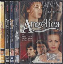 5 Dvd Lotto Stock «ANGELICA» serie completa con 5 film nuovo sigillati