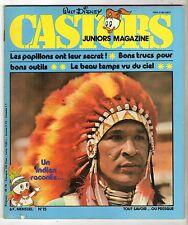 ► MENSUEL CASTORS JUNIORS N°15 - 1979 - TBE