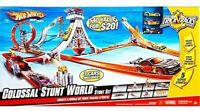HOT WHEELS Colossal Stunt World Connect Create Super Stunts. New In Open Box