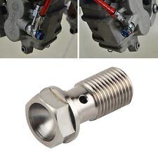 Titanium Single Banjo Bolt Screw M10 x 1.0 For KTM SX SXF XC XCF XCW MXC EXC F