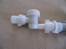 Removable Filter, 7/8 pipe thread installs on any Type of Toilet Fill Valve