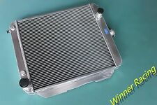 56MM Aluminum Radiator Fit Chevy Impala/Biscayne/Caprice/Bel Air 348 V8 AT 1958