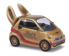 Busch 46211 - 1/87 / H0 Smart Fortwo Coupe - Lindt Goldhase - Neu