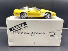 """Competition Yellow"" 1995 Corvette ZR-1 Danbury Mint 1:24"