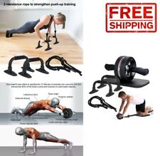 Chest Workout Gym Equipment Home Core Abs Push Up Home Exercise Fitness Roller