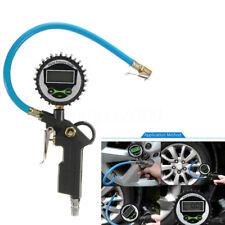 Car Digital Air Line Tyre Pressure Truck LCD Inflator Gauge 0-220psi Compressor