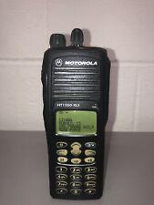 Motorola HT1550 XLS VHF 136-174 Mhz 255 Channels Field Programming Enabled FPP