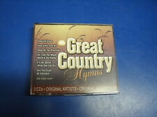 GREAT COUNTRY HYMNS GOSPEL MUSIC 3 COMPACT DISCS