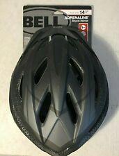 Bell Sports Adrenaline Adult Bike Helmet - Black With Visor 14+ Reflectors Safe