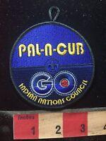 Pal-n-Cub Go Indian Nations Council BSA Boy Scout Patch 78E5