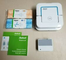 iRobot Braava Jet 240 Mopping Robot White With Pads Pack * NEVER USED *